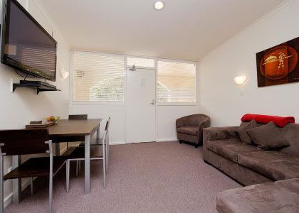View 2 bedroom – 1 double, 2 singles at