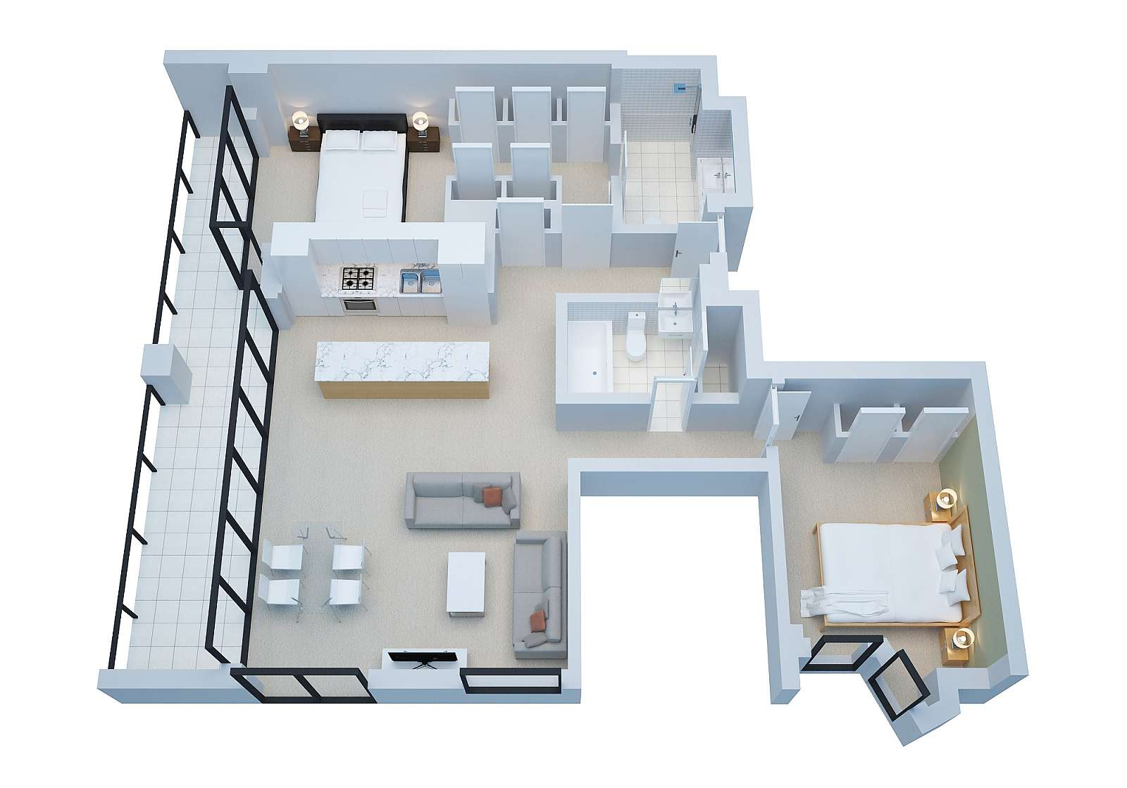 495-Freshwater-Place-2-bedrooms-accomodation-Southbank