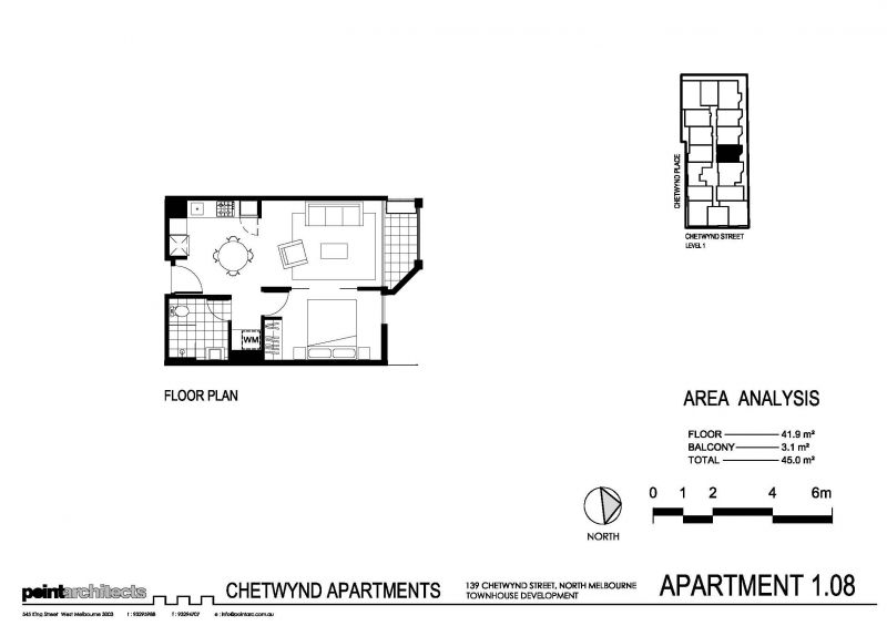RNR Serviced Apartments Floor Plan