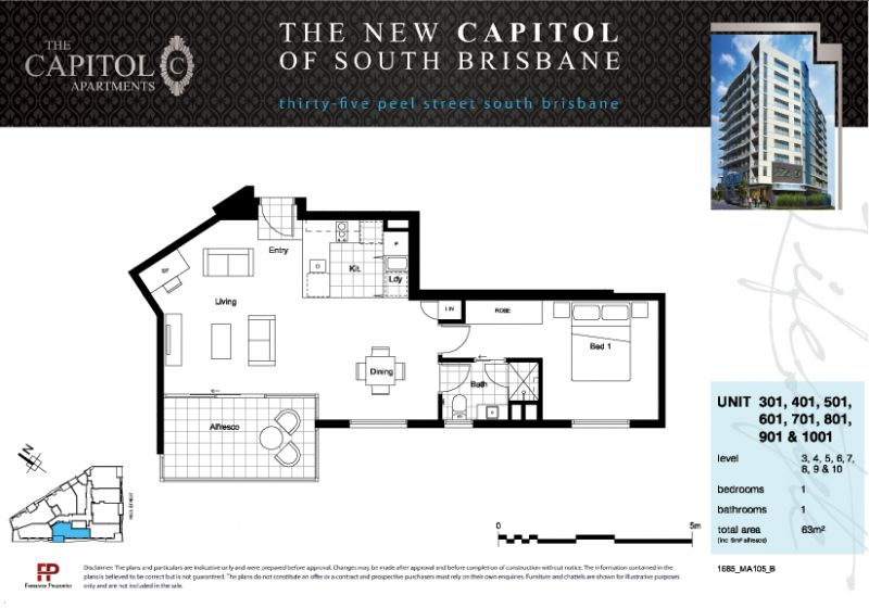 The Capitol Apartments Floor Plan